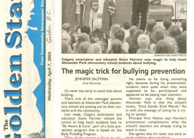 The magic trick for bullying prevention